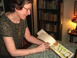 Ann Kietzman with an International Children's Book