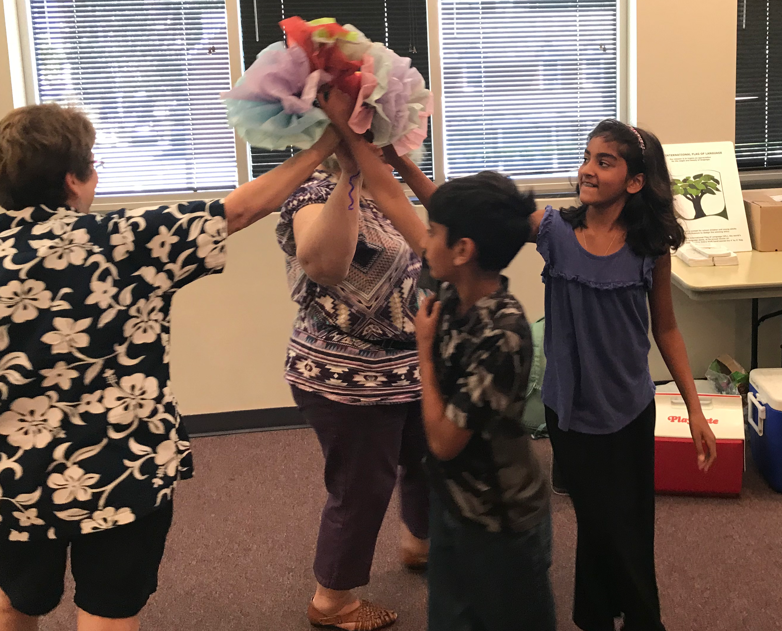 NML's 2018 Summer Camp: A Spanish Language and Culture Day